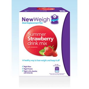 NewWeigh Meal Replacement Plan Strawberry – Pack Of 7