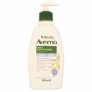 Aveeno Daily Moisturising Cream Lavender 300ml