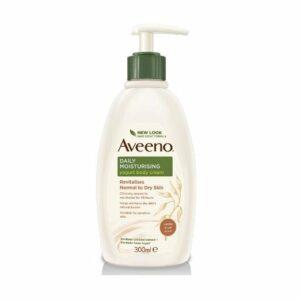 Aveeno Vanilla & Oat Yoghurt Body Cream 300ml Pump