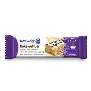 NewWeigh Meal Replacement Plan Bakewell Bar – 7 Pack (Buy 5, Get 2 Free)