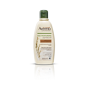Aveeno Daily Moisturising Yogurt Body Wash – Vanilla & Oats 300ml