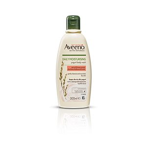 Aveeno Daily Moisturising Yogurt Body Wash – Apricot & Honey 300ml