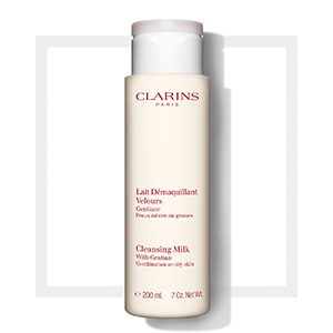"Clarins Cleansing Milk With Gentian ""Combination/Oily Skin"" 200ml"
