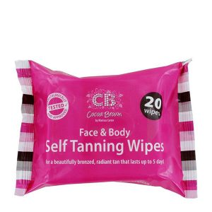Cocoa Brown Tanning Wipes