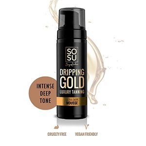 SOSU By Suzanne Jackson Dripping Gold Luxury Tanning Mousse – Ultra Dark