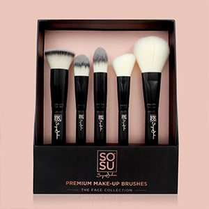 SOSU By Suzanne Jackson Makeup Brushes – The Face Collection