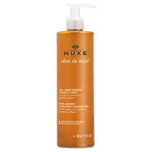 Nuxe Reve De Miel Ultra Rich Face & Body Cleansing Gel 400ml