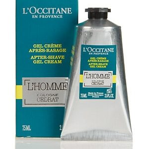 L'OCCITANE L'Homme Cologne Cedrat After Shave Gel Cream 75ml
