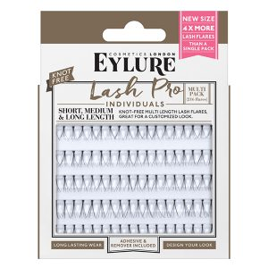 Eylure Lash-Pro Individuals – Knot Free Short, Medium & Long Lashes