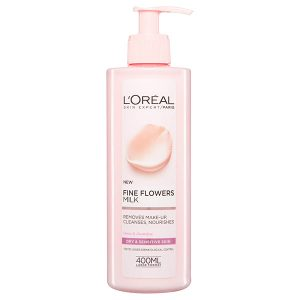 L'Oreal Fine Flowers Cleansing Milk 400ml