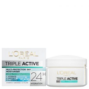 L'Oreal Triple Active Day Multi-Protection Moisturiser Normal & Combination Skin 50ml