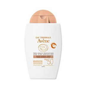Avene Eau Thermale Tinted Mineral Fluid SPF 50+