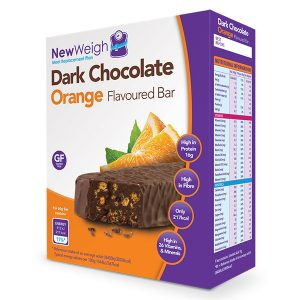 NewWeigh Meal Replacement Plan Chocolate Orange Bar – 7 Pack (Buy 5, Get 2 Free)
