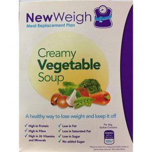 NewWeigh Meal Replacement Plan Vegetable Soup – Pack Of 7