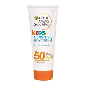 Garnier Ambre Solaire Kids Sensitive Advanced Sun Cream Lotion SPF 50