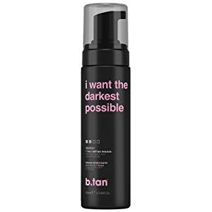B.Tan I Want The Darkest Tan Possible Self Tan Mousse 200ml