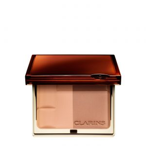 Clarins Bronzing Duo SPF 15 Mineral Compact- 01 Light