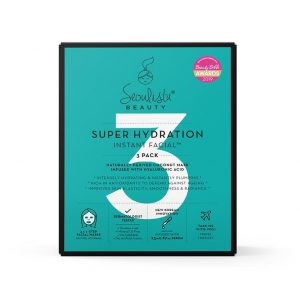 Seoulista Super Hydration Instant Facial – 3 Pack