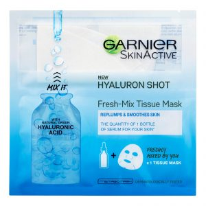 Garnier Fresh-Mix Face Sheet Shot Mask With Hyaluronic Acid