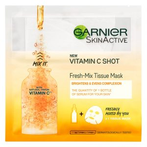 Garnier Fresh-Mix Face Sheet Shot Mask With Vitamin C