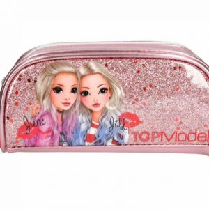 Top Model Hard Pencil Case- Glitter Friends