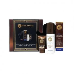 Bellamianta Rapid Self Tanning Tinted Mousse Gift Set