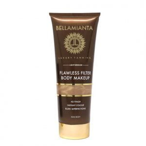 Bellamianta Flawless Filter Body Makeup- Light To Medium 100ml