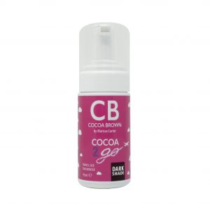 Cocoa Brown Cocoa 2 Go Travel Size 1 Hour Tan Mousse- Dark 95ml