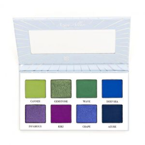 Sosu X CLE Makeup Azure Allure Eye Shadow Palette