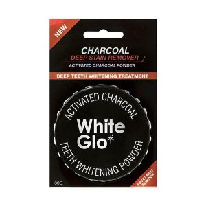 White Glo Activated Charcoal Powder 30g