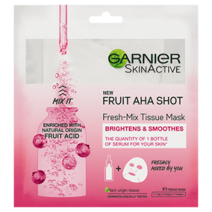 Garnier Fresh Mix Tissue Mask-  With Fruit Acid