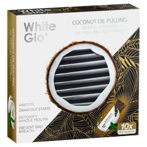 White Glo Oil Pulling Treatment 10 Pack
