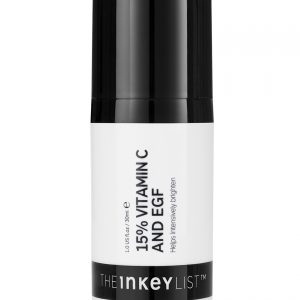 The Inkey List 15% Vitamin  C EGF Brighting Serum 30ml