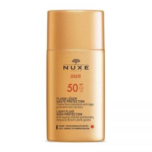 Nuxe Sun Light Fluid SPF 50 For Face 50ml
