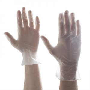 Aurelia Softer Stretch Vinyl Powder Free Examination Gloves – SMALL