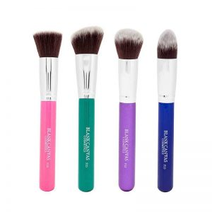 Blank Canvas Multi Colour Edition Brush Set With Travel Case