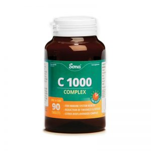 Sona C1000 Complex 90 One A Day Tabs