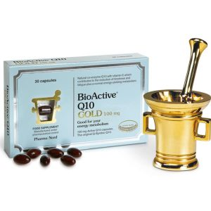 Pharma Nord BioActive Q10 Gold 100mg Active Co-Enzyme Q10 30caps