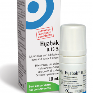 Hyabak Dry Eye Sterile Eye Drops 10ml