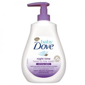 Baby Dove Night Time Head To Toe Wash