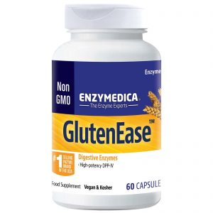 Enzymedica Gluten Ease Digestive Enzyme Food Supplement 60 Capsules