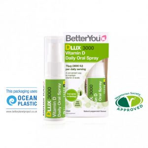 Better You DLUX 3000 Vitamin D Daily Oral Spray 75ug/3000iu 15ml