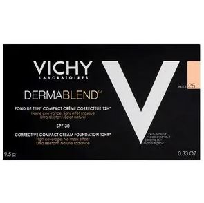 Vichy Dermablend Corrective Cream Compact Foundation SPF 30 – 25 Nude