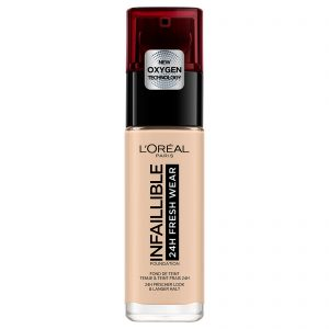 L'Oreal Infaillible 24hr Fresh Wear Foundation -20 Ivory