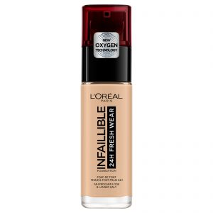 L'Oreal Infaillible 24hr Fresh Wear Foundation -125 Natural Rose