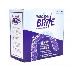 Retainer Brite Cleaning Tabs 36