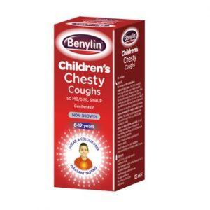 Benylin Non Drowsy Children's Chesty Cough Syrup 125ml