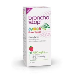 Broncho Stop Junior Cough Syrup – 120ml