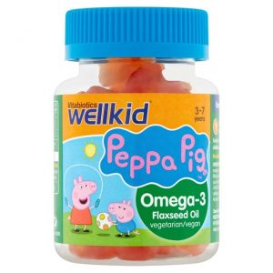 Wellkid Peppa Pig Omega- 3 Gummies