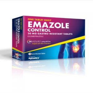 Emazole Control Esomeprazole 20mg 14 Tablets